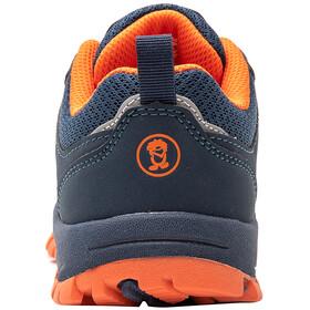 TROLLKIDS Sandefjord Hiker Zapatillas Bajas Niños, azul/naranja